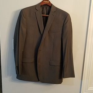 Calvin Klein Mens Suit Gray